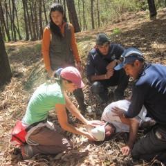 Curso Práctico de Primeros Auxilios para Excursionistas