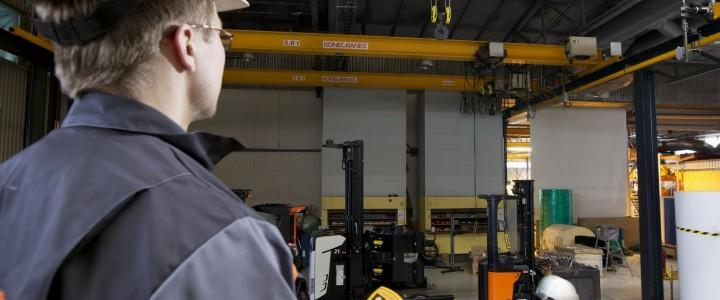Curso gratis de Operador de Puente-Grúa online para trabajadores y empresas