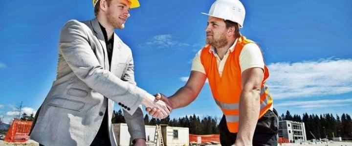 Curso gratis Encargado de Obra online para trabajadores y empresas