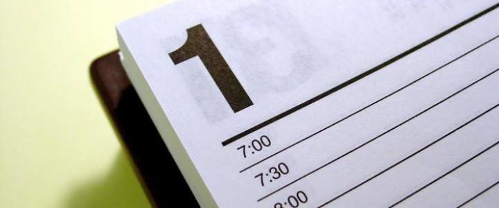 Curso gratis Práctico de Gestión del Tiempo y Planificación de Tareas online para trabajadores y empresas