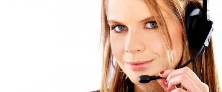 Curso gratis Superior de Atención Telefónica al Público online para trabajadores y empresas