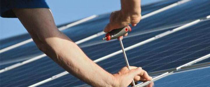 Curso gratis Superior de Energía Solar Fotovoltaica online para trabajadores y empresas