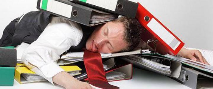 Curso gratis Superior de Gestión de Estrés Laboral y afrontamiento del Síndrome de Burnout online para trabajadores y empresas