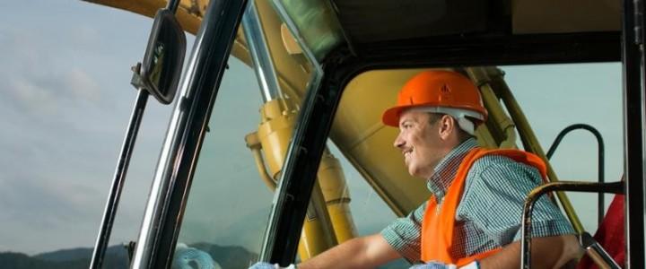 Curso gratis Técnico en Prevención de Riesgos Laborales y Medioambientales para Operadores de Vehículos y Maquinaria en Movimientos de Tierra online para trabajadores y empresas