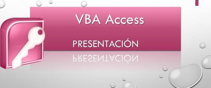 Curso gratis VBA para Access online para trabajadores y empresas