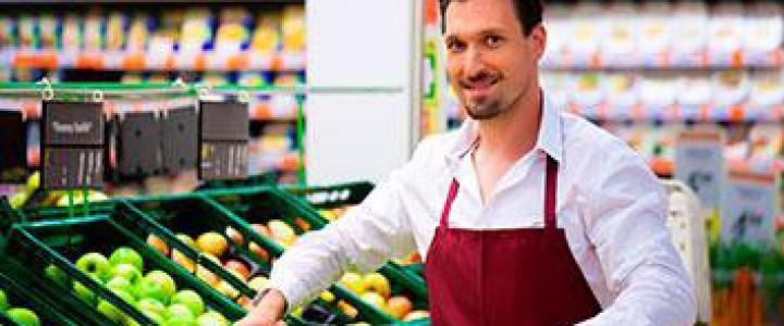 Curso gratis Dependiente de Frutería online para trabajadores y empresas