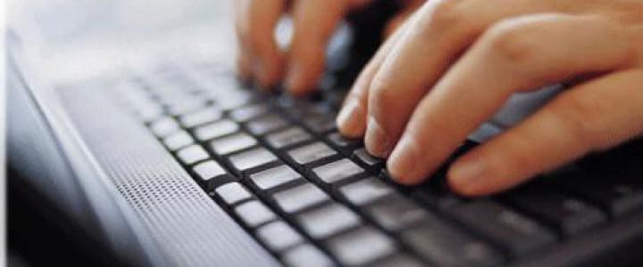 Curso gratis ADGG0508 Operaciones de Grabación y Tratamiento de Datos y Documentos online para trabajadores y empresas