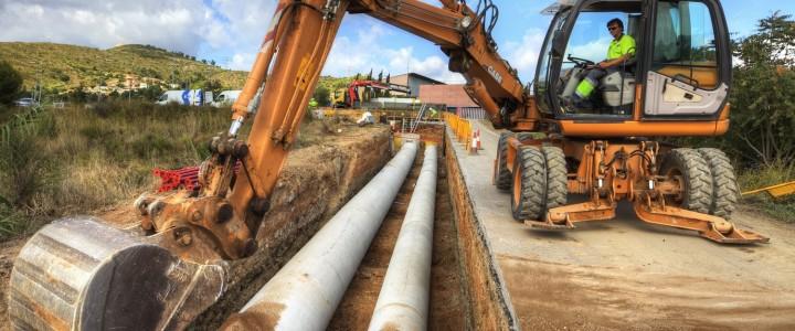 Curso gratis UF1002 Obras de Redes de Abastecimiento y Distribución de Agua y Saneamiento online para trabajadores y empresas