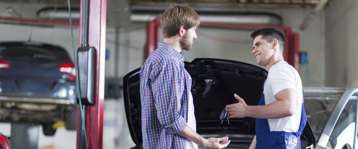 Administrativo-Recepcionista de Talleres de Automóviles
