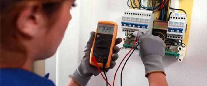 Curso gratis Electricista en edificios online para trabajadores y empresas
