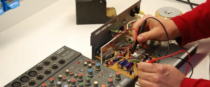Curso gratis ELEQ0211 Reparación de Equipos Electrónicos de Audio y Vídeo online para trabajadores y empresas