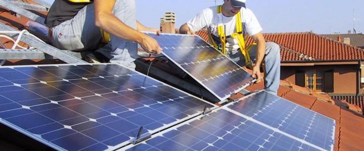 Curso gratis Energía solar fotovoltaica online para trabajadores y empresas
