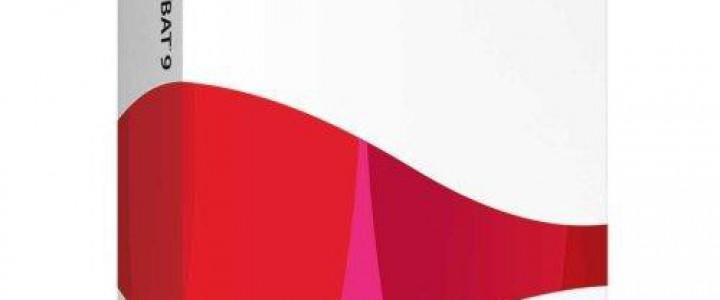 Curso gratis Especialista TIC en Adobe Acrobat 9 Professional online para trabajadores y empresas