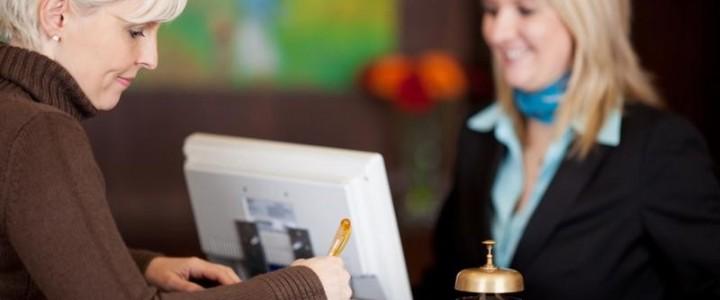 Curso gratis Recepción en Alojamientos online para trabajadores y empresas