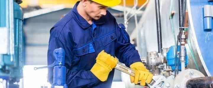 Curso gratis Online de Prevención en Máquinas Industriales online para trabajadores y empresas