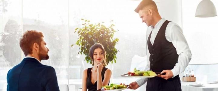 Curso gratis Servicios de Restaurante online para trabajadores y empresas