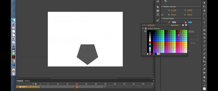 Curso gratis Tutorial de Adobe Animate CC y Adobe Dreamweaver CC online para trabajadores y empresas