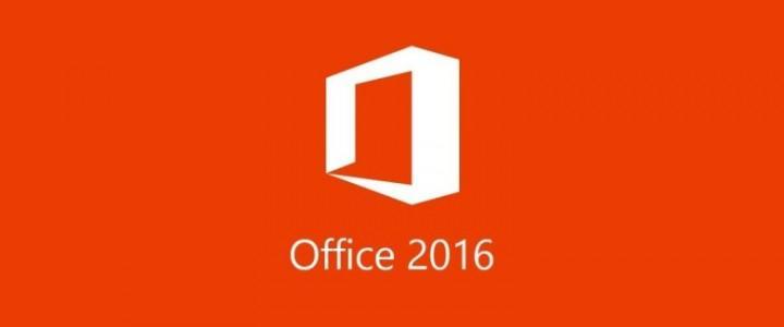 Curso gratis Superior de Ofimática Básica. Office 2016 Nivel Profesional online para trabajadores y empresas