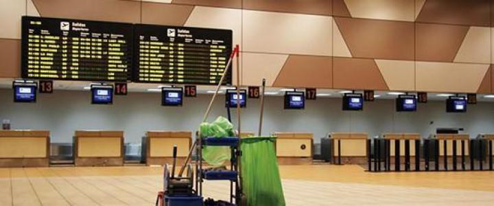Curso gratis Experto en Limpieza en Aeropuertos online para trabajadores y empresas