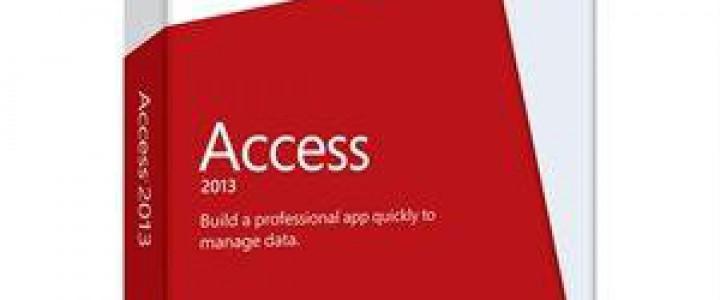 Curso gratis Experto en Microsoft Access 2013 online para trabajadores y empresas