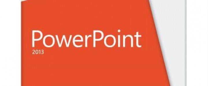 Curso gratis Experto en Microsoft PowerPoint 2013 online para trabajadores y empresas