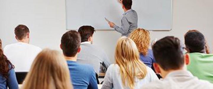 Curso gratis Formador Ocupacional online para trabajadores y empresas