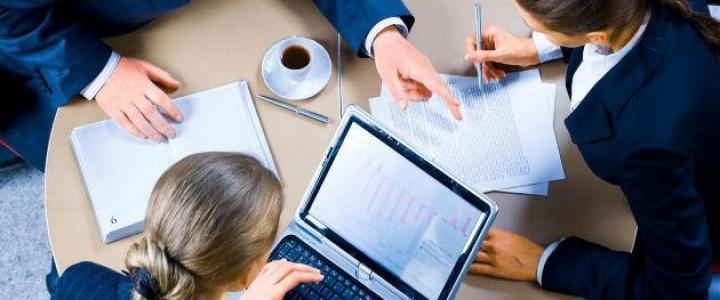 Curso gratis Gestión de PYMES - Curso acreditado por la Universidad Rey Juan Carlos de Madrid - online para trabajadores y empresas