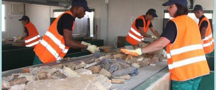 Curso gratis Gestión de Residuos de la Construcción y Demolición (RCD) online para trabajadores y empresas