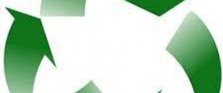 Curso gratis Gestión de residuos, envases y embalajes online para trabajadores y empresas