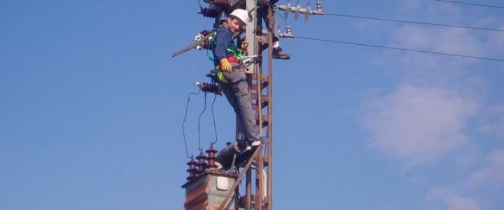 Montaje de redes eléctricas aéreas de alta tensión. ELEE0209 - Montaje y mantenimiento de redes eléctricas de alta tensión de 2ª y 3ª categoría y centros de transformación