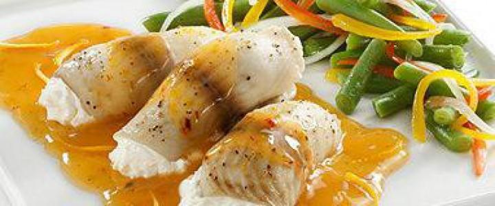 Preparación de salsas, pescados y mariscos