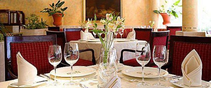 UF0058 Uso de la Dotación Básica del Restaurante y Asistencia en el Preservicio