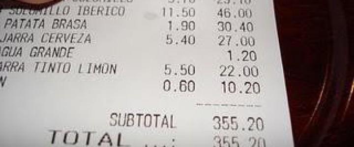UF0260 Facturación y Cierre de Actividad en Restaurante