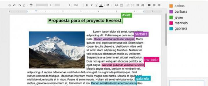 UF0857 Elaboración de Documentos de Texto