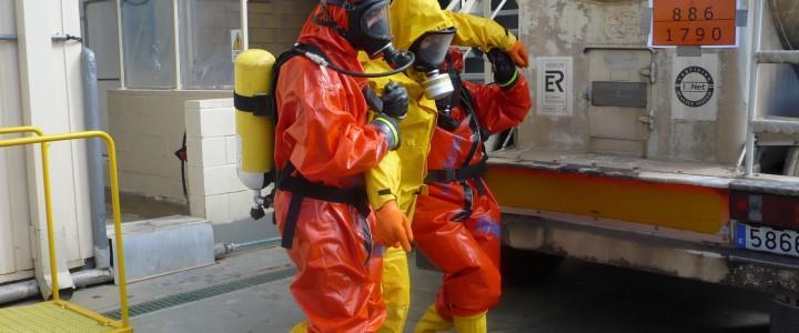 UF2348 Intervención en Emergencias con Sustancias Peligrosas