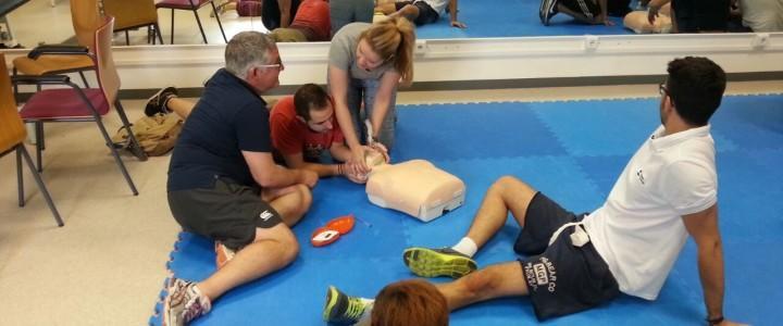 Curso Práctico de Primeros Auxilios en Instalaciones Deportivas