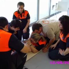 Curso Práctico de Primeros Auxilios para Técnicos de Protección Civil