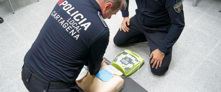 Curso Práctico de Primeros Auxilios para Policías Locales