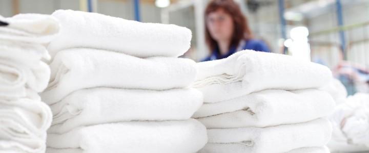 Limpieza hospitalaria. Servicio de lavandería