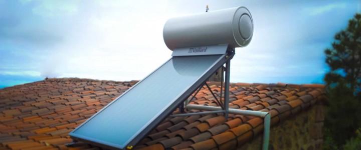 Energía solar térmica - Curso acreditado por la Universidad Rey Juan Carlos de Madrid -